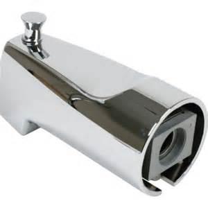 Faucet Seal Replacement by Moen Chrome Diverter Tub Spout 1 2 Quot Slip Fit Hd Supply