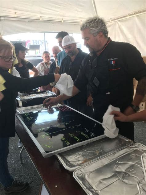 guy fieri cooks  victims   northern california fires   hometown fn dish