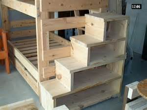 stairs for beds bunk bed steps shelves great idea for younger who