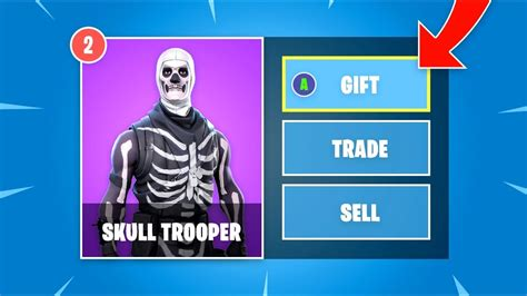 fortnite marketplace gift skins  bucks youtube