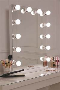 Hollywood Glow Vanity Mirror With Led Bulbs Lullabellz
