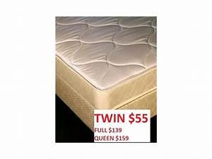 HUGE MATTRESS SALE TWINS 55 FULL 139 Discount