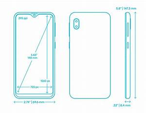 Samsung Galaxy A10e  2019  Dimensions  U0026 Drawings