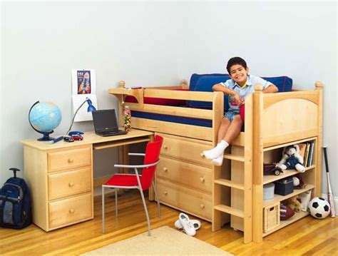 kids loft bed and desk maxtrix kids twin low loft bed with desk dresser and bookcase