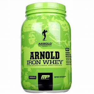Musclepharm Arnold Iron Whey  Chocolate - 2 Lb