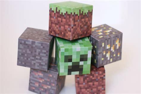 block craft free printable minecraft blocks free sweet 1146