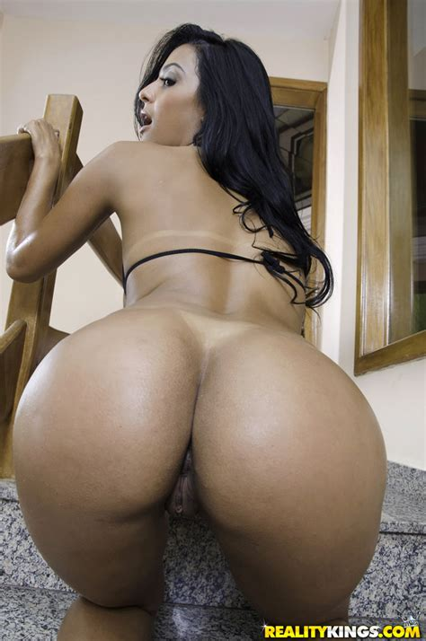 Horny Latina In High Heels Undressing To Show Big Ass