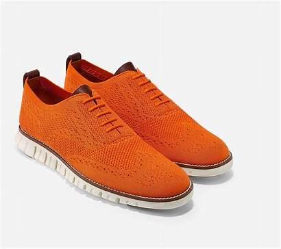 Cole Haan Shoes Zerogrand Mens Orange Colehaan
