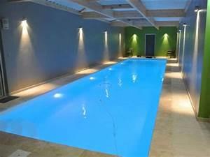 Eclairage Piscine Bois : eclairage autour dune piscine possibilit de se baigner la ~ Edinachiropracticcenter.com Idées de Décoration