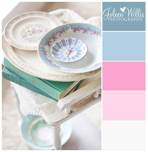 shabby chic color palette vintage shabby chic wedding inspiration