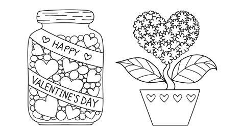 il disegno per i bambini san valentino disegni da colorare per bambini