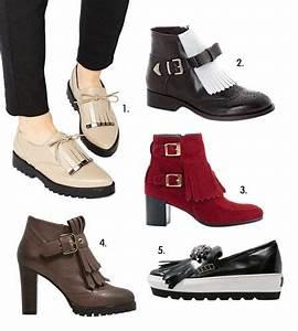 Tendance Chaussures Automne Hiver 2016 : tendance automne hiver 2015 2016 pattes mexicaines ~ Melissatoandfro.com Idées de Décoration