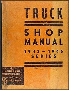 1947 Dodge Truck Wiring : 1941 1947 dodge pickup truck w series repair shop manual ~ A.2002-acura-tl-radio.info Haus und Dekorationen
