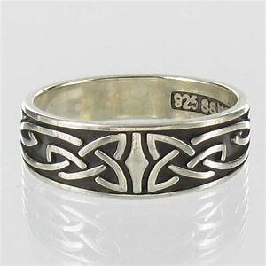 celtic ring sterling silver band irish knot wedding With irish wedding rings from ireland