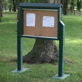 whiteboards bulletin boards outdoor boards jayhawk With outdoor letter boards with posts