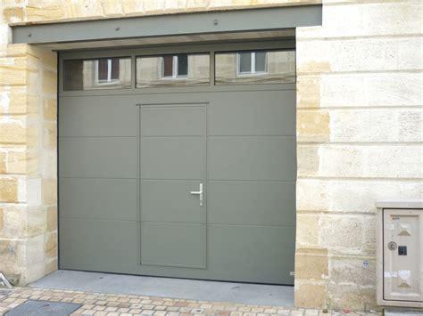 la porte de garage sectionnelle sur mesure