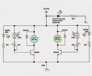 Electrical Engineering World  A Simple Line Following