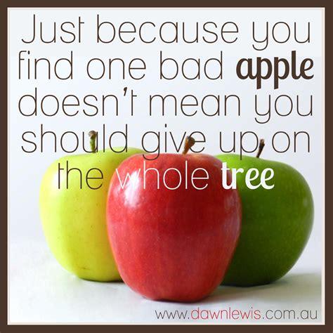 Apple Quote Quoteable Bad Apples Cakeandenemy