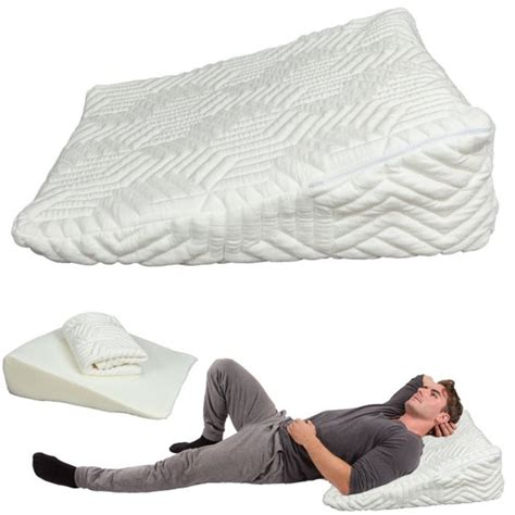 31950 back pillow for bed ktaxon memory foam wedge pillow bed back lumbar neck