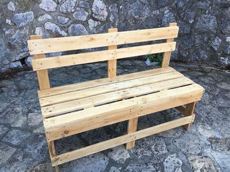 Banc En Palette Design  In The Wood For Love