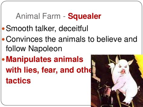 animal farm chapter    character connections