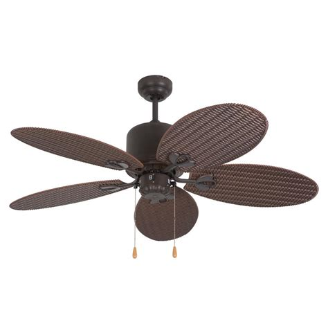 48 outdoor ceiling fan yosemite home decor tropical breeze 48 in oil rubbed