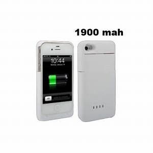 Chargeur Iphone 4 Carrefour : batterie coque iphone 4 4s chargeur 1900 mah blanche ~ Dailycaller-alerts.com Idées de Décoration