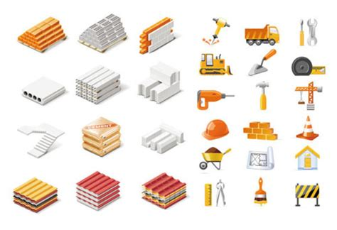 construction material clipart   cliparts