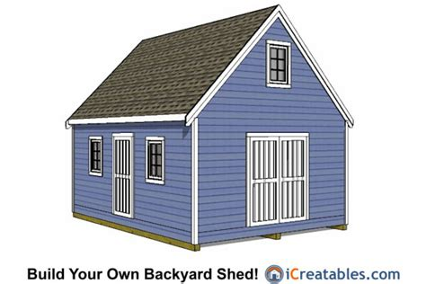 Shed Plans 16x20 Free by Gor Knowing Free Storage Shed Plans 16x20