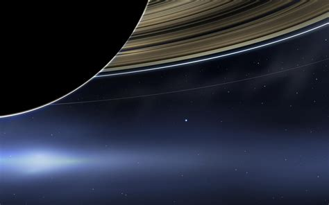 The Day Earth Smiled Cassini Iconic Image
