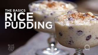 all kinds of desserts how to make rice pudding the basics on qvc