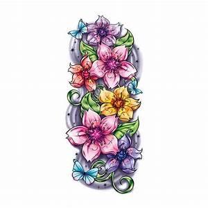 Tattoo Fleur De Cerisier : tatouage temporaire old school fleurs de cerisiers signification tatouages exclusifs tattoo ~ Melissatoandfro.com Idées de Décoration