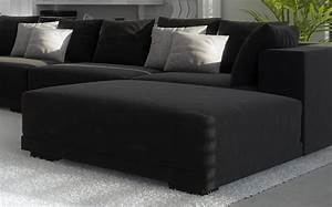 Große Couch In Kleinem Raum : sam wohnzimmer hocker passend zur couch anima schwarz auf ~ Lizthompson.info Haus und Dekorationen