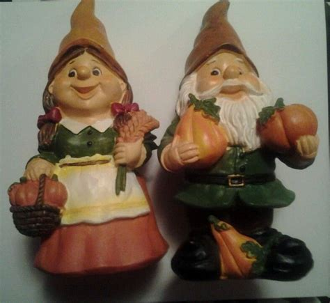 harvest fall autumn thanksgiving gnome set
