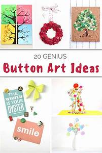 DIY button art - get 20 project ideas! - Mod Podge Rocks
