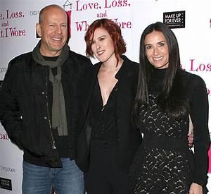 Bruce Willis, Demi Moore, Emma Heming and Ashton Kutcher ...