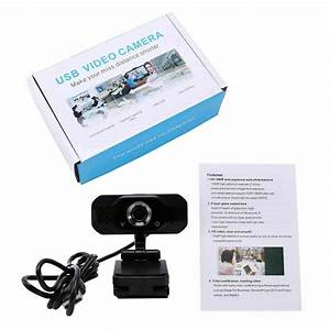Real 1080p Full Hd Usb Webcam Web Camera With Microphone