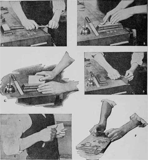 sharpening  cabinet scraper