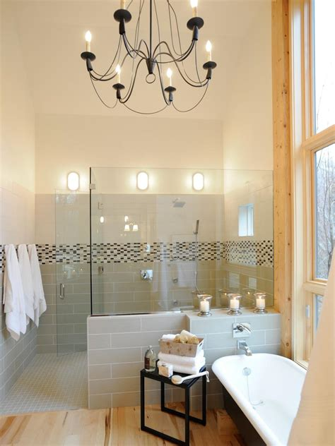 Bathroom Shower Lights by 13 Dreamy Bathroom Lighting Ideas Hgtv
