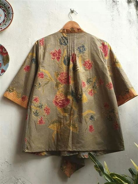 detail batik blouse inspiration work pinterest