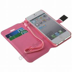 Cute Pretty Girl Flip Wallet Leather Case Cover For iPhone ...
