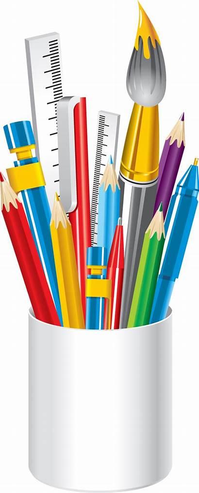 Crayons Pot Classes Rentree Vive Prettypoun Tube
