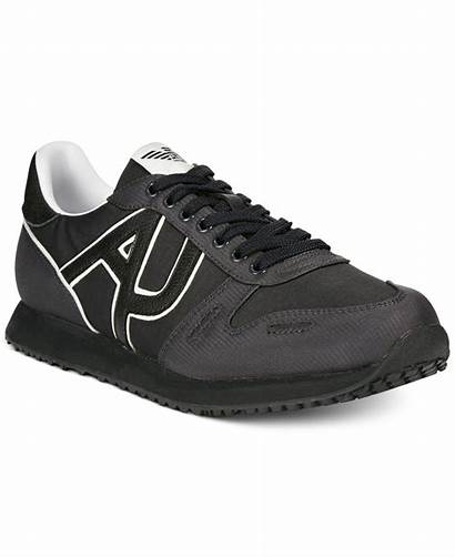 Sneakers Armani Jeans Trainer Shoes Lyst