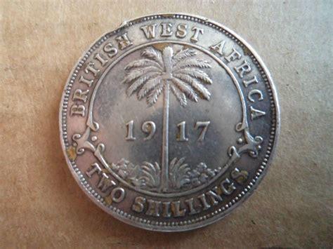 1917 Britu Vakaru Afrika 2 silingai   22082351