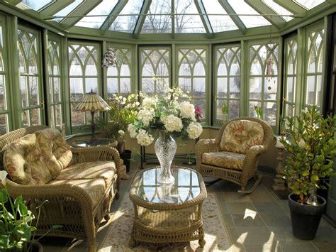 Conservatory Sunrooms  Decorating And Design Ideas For