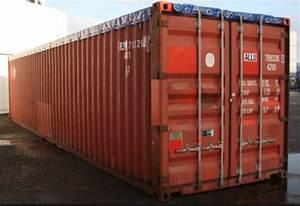 40 Container Gebraucht : conteneur maritime open top de 40 pieds en occasion produits mechanic international ~ Markanthonyermac.com Haus und Dekorationen