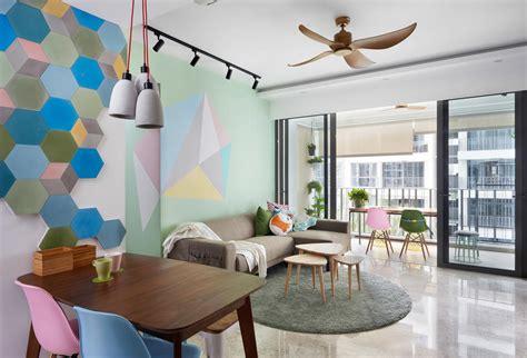 homes  cool pastel hues  bright interiors home
