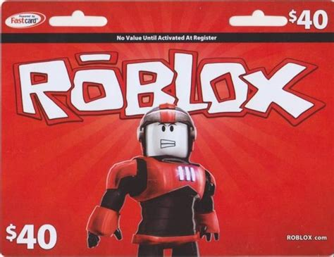 roblox gift card items