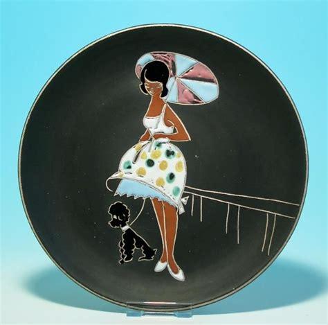 50er Jahre Geschirr by Marei Keramik Wandteller Circa 1958 Remember 50s 60s 70s