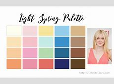 Light Spring Palette Infinite Closet